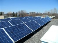 Rooftop solar at 140 Mann Ave, Ottawa. Built on behalf of Conservation Co-op in 2011 by 3G acting as OEM.