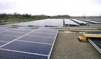 500KW Rooftop solar at 1295 North Service Road, Mississauga. Built on behalf of M'Chigeeng First Nation by Solar Power Networks in 2016. 3G acted as advisor to M'Chigeeng First Nation from 2012 to 2017 on a 5MW portfolio of rooftop solar projects in partnership with SPN.